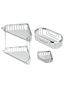 Gatco Shower Corner Basket Collection by Bed Bath And Beyond
