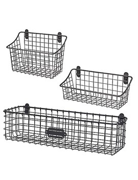 Spectrum® Vintage Cabinet & Wall Mount Basket Collection by Bed Bath And Beyond