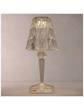 Kartell Battery Table Lamp, Clear by Kartell
