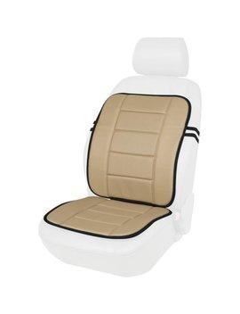 Kool Kooshion 60 287008 B Faux Leather Full Seat Cushion, Beige by Kool Kooshion
