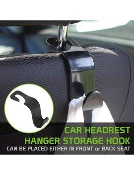 Universal Car Headrest Hanger Storage Hook by Cellet