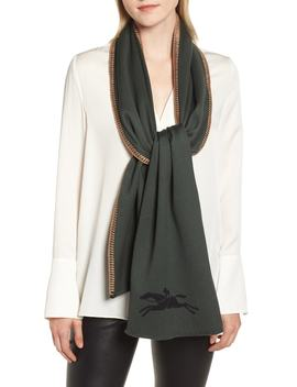 Cashmere & Silk Scarf by Longchamp