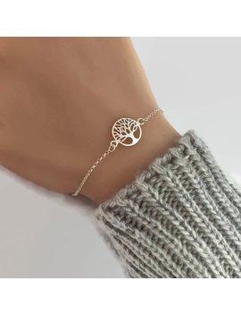 Sterling Silber Baum Des Lebens Armband   Einstellbar, Stammbaum Armband, Silber, Mütter, Geschenk Für Mama by Jewellery By Zm