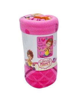 """Girls Fancy Nancy Fleece Throw Blanket 45""""X60"""" by Disney"""