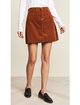 Corduroy Mini Skirt by Blank Denim
