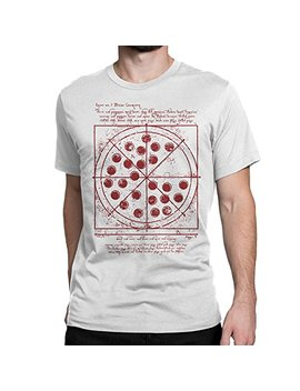 Cellblock 1138 Spiderman: Homecoming Inspired Vitruvian Pizza Tshirt by Cellblock 1138