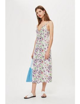 Field Fest Frill Slip Dress by Topshop