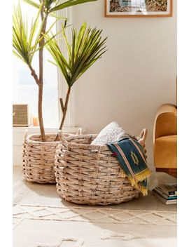 Charlotte Woven Basket by Urban Outfitters