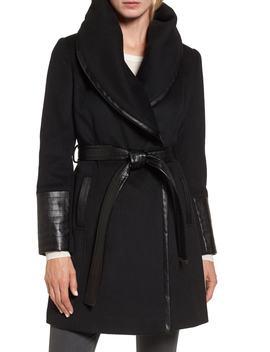 Wool Blend Coat by Via Spiga