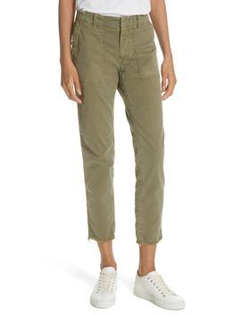 Jenna Side Tape Crop Pants by Nili Lotan