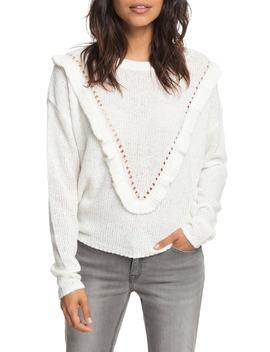 One Fine Stay Ruffle Sweater by Roxy