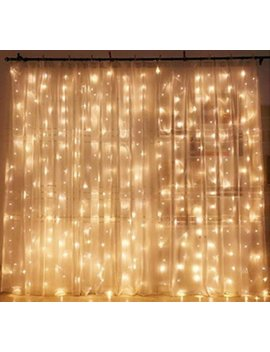 Window Curtain String Light Wedding Party Photo Prop Fairy Party Birthday Party Home Garden Bedroom Outdoor Indoor Wall Decorations by Great Finds Crafts