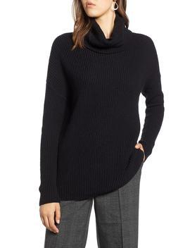 Oversized Turtleneck Tunic Sweater by Halogen®