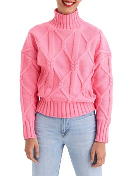 Collection Cable Mock Neck Sweater by J.Crew