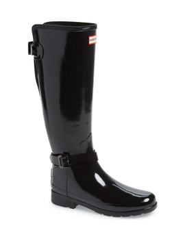 Refined Knee High Rain Boot by Hunter