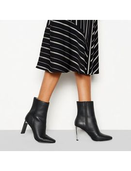 Faith   Black 'betty' High Heel Boots by Faith