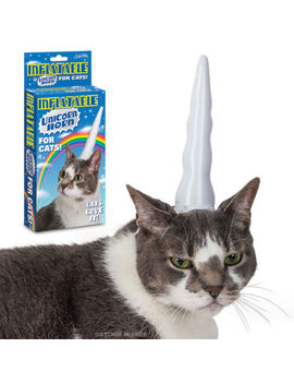 inflatable-unicorn-horn-for-cats by ebay-seller