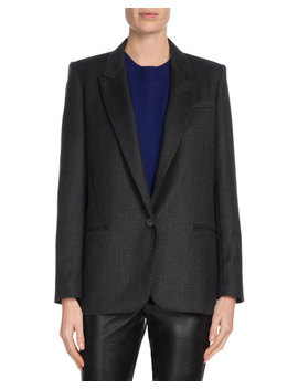 Igora Single Button Wool Blazer by Etoile Isabel Marant
