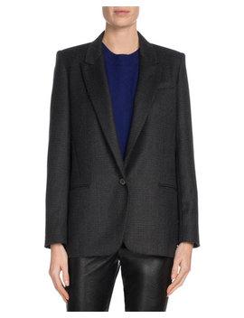 Igora Single Button Wool Blazer by Etoile Isabel Marant