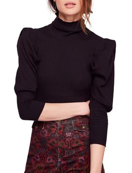 Lala Mock Neck Top by Free People