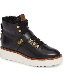 Urban Hiker Genuine Shearling Lined Bootie by Coach