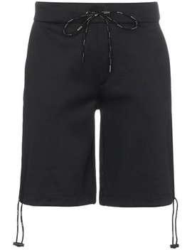 Vltn Print Cotton Blend Shorts by Valentino