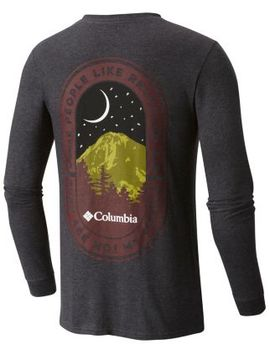 Men's Great Heights Cotton Tee Shirt L/S by Columbia Sportswear