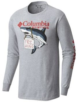 Men's Pfg Vesta Tee Shirt L/S by Columbia Sportswear
