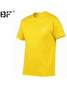 2018 New Brand Mens T Shirts Summer 100 Percents Cotton Short Sleeve T Shirts Casual Tee Shirts Male T Shirt Homme Plus Size Xs 2 Xl by Bf