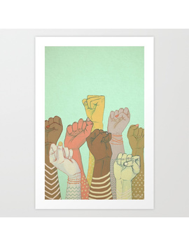 Together Art Print by