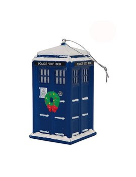"Doctor Who Tardis Police Box Christmas Tree Ornament   4"" X 2"" by Doctor Who"