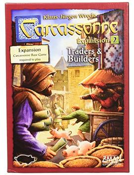 Z Man Games Carcassonne Expansion 2: Traders And Builders by Z Man Games
