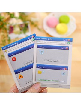 The System Prompts The Post Korean Tear  Message N Sticker Book Notes by Ali Express