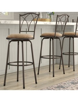 Three Posts Frankfort Adjustable Swivel Bar Stool & Reviews by Three Posts