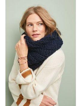 Niki Wool Infinity Scarf by Alma Knitwear