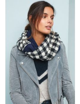 Destin Minibud Gingham Wool Scarf by Destin