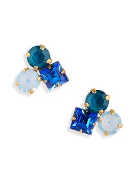 Harlow Cluster Stud Earrings by Loren Hope