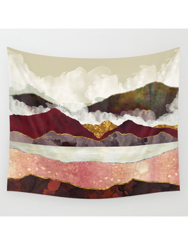 Melon Mountains Wall Tapestry by