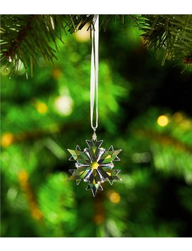 Crystal Annual Edition 2018 Little Snowflake Christmas Ornament by Swarovski