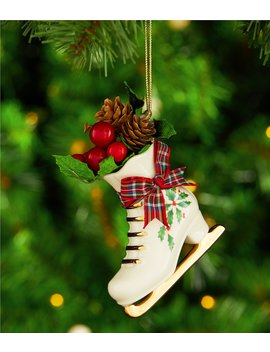 2018 Holiday Skate Ornament by Lenox