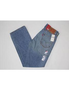 Levi's Men's 505 Regular Fit Jean, Lost Light Blue , 29 W X 30 L by Levi's