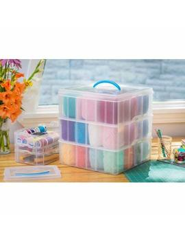 "Snapware Snap 'n Stack Home Storage Container 12"" X 12"" by Snapware"
