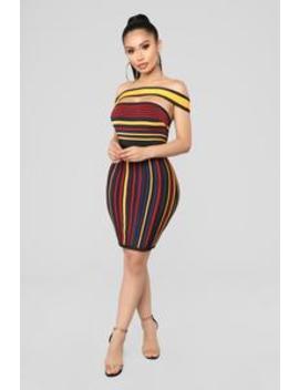 I Can Handle It Bandage Dress   Mustard by Fashion Nova