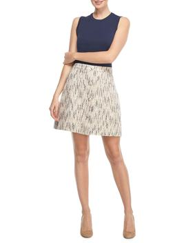 Paige Tweed A Line Skirt by Gal Meets Glam Collection
