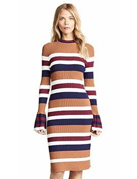 Endless Rose Women's Striped Midi Dress by Endless Rose