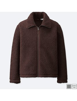 Men Uniqlo U Fleece Jacket by Uniqlo