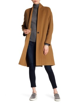 Wool Blend Coat by Vince