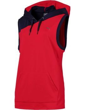 Puma Women's A.C.E. Sleeveless Hoodie by Puma