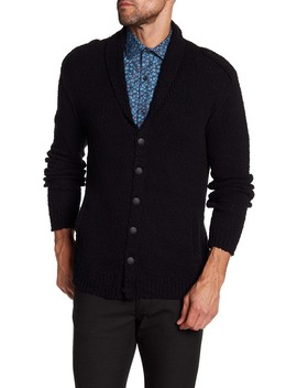 Shawl Collar Cardigan by John Varvatos Collection