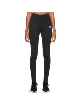 Black Sc Stirrup Leggings by Adidas Originals
